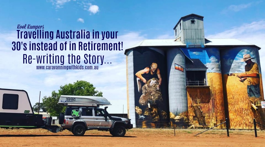 Travelling Australia in your 30's instead of Retirement | Kool Kampers