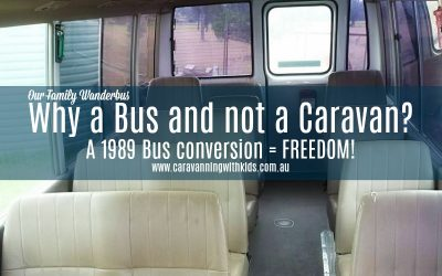 Why a Bus and not a Caravan? Our Family Wanderbus explain..