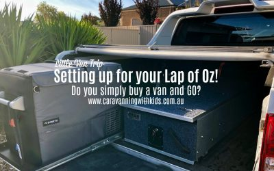 Setting up for a Lap of Oz | Are you ready for Adventure?