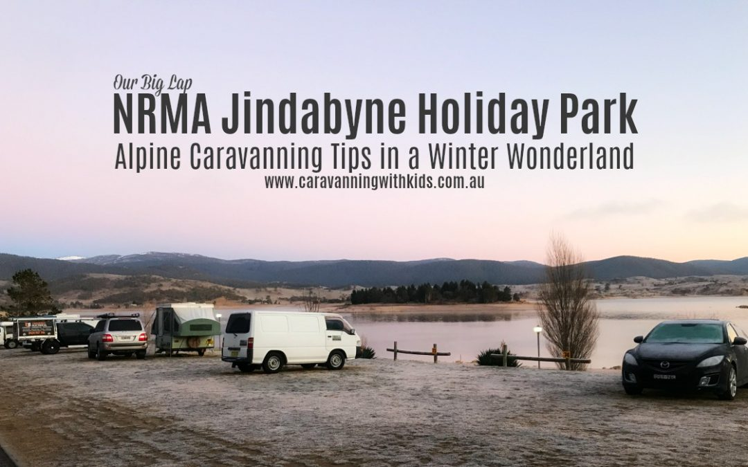NRMA Jindabyne Holiday Park   A Caravanning Winter Wonderland