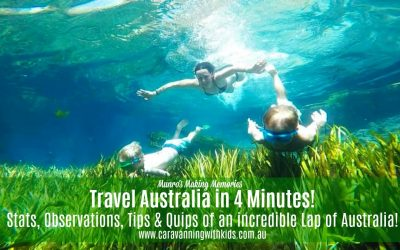 Travel Australia in 4 minutes! Amazing Stats from an Incredible Lap of OZ.