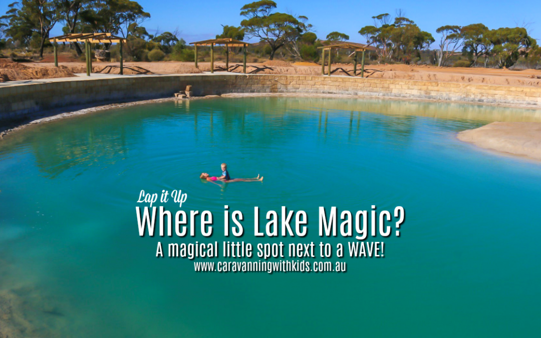 Lake Magic | Just across the road from Wave Rock | WA