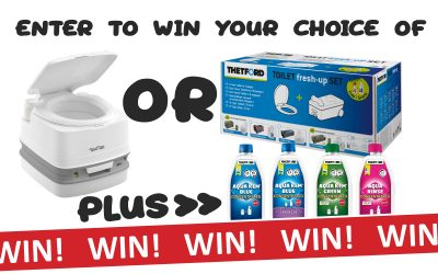 WIN a Thetford Porta Potty Prize Pack