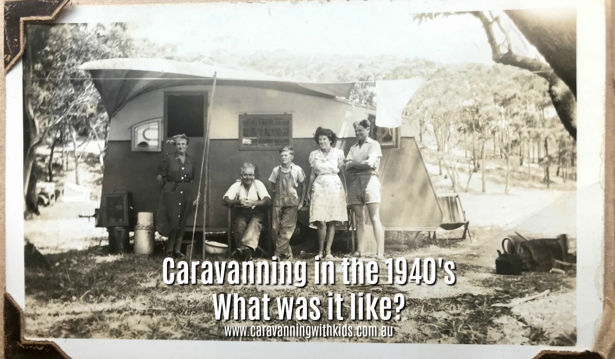 Caravanning in the 1940's | Let's Step back in Time!