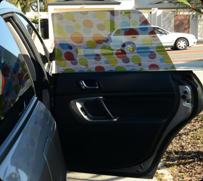 Toddler Tints   Car Window Tints