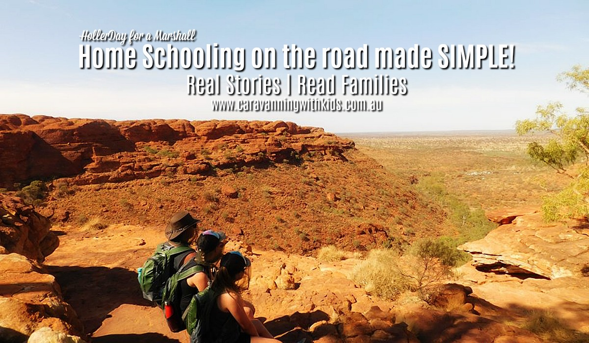 Home Schooling on the road made simple | Aussie Big Lappers