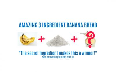 Amazing 3 Ingredient Banana Bread