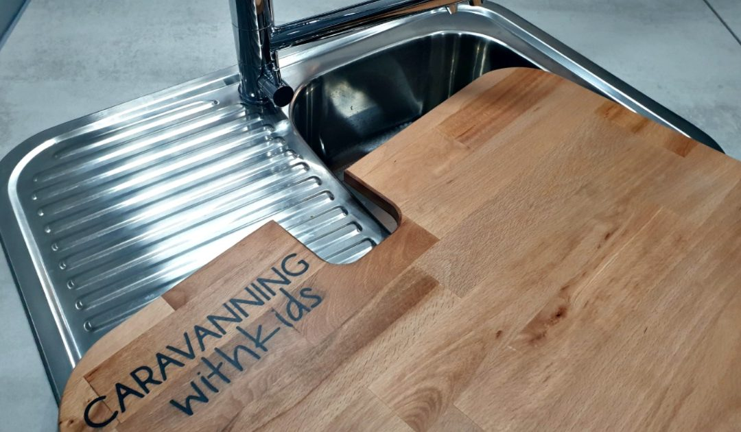 Caravan Sink Chopping Board – MORE bench space!