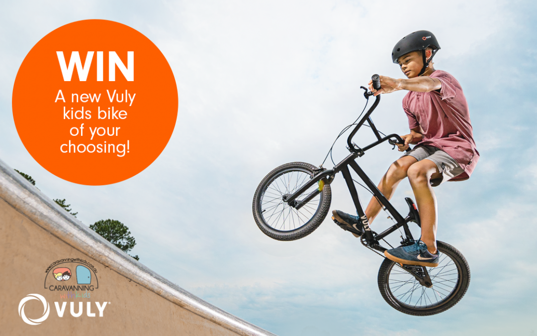 WIN a Vuly Kids Bike of your choice!