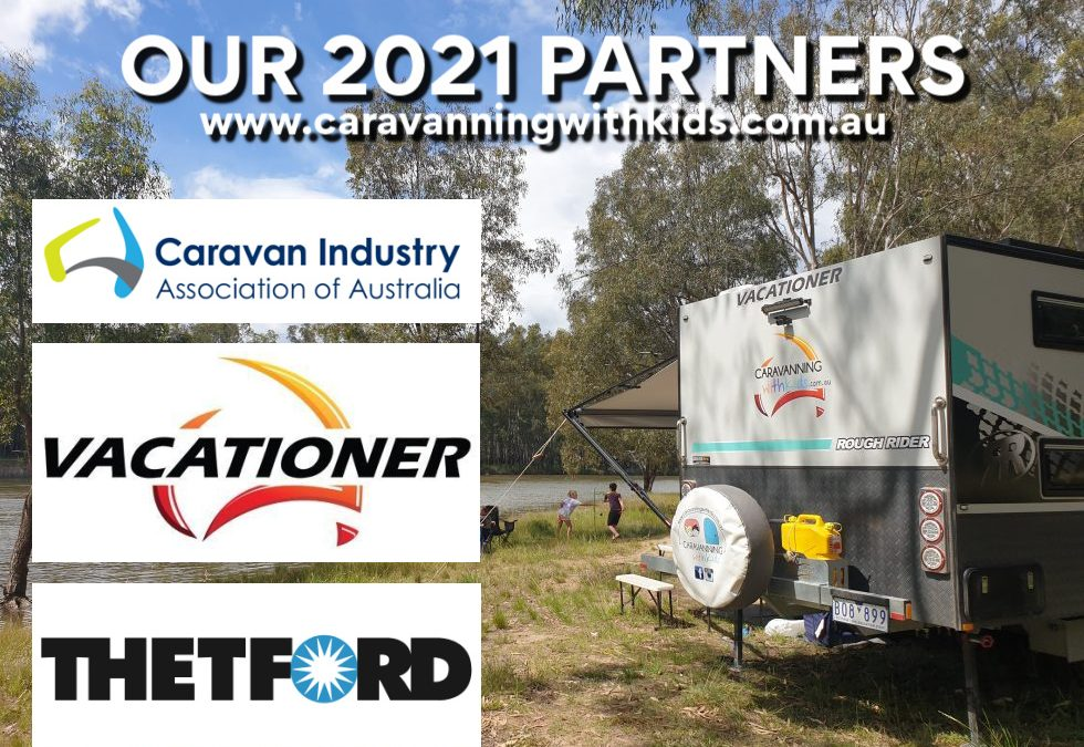 Caravanning with Kids 2021 MAJOR PARTNERS