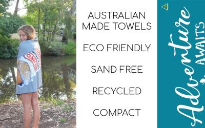 Australian Made ECO Beach Towels